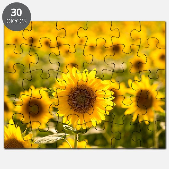 Cute Yellow flower Puzzle