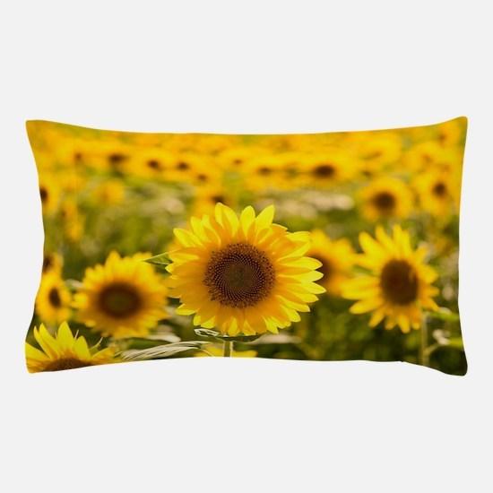Cute Sunflower Pillow Case