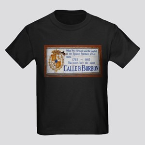 Bourbon Street Kids Dark T-Shirt