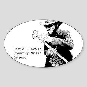 DSL, CML Oval Sticker