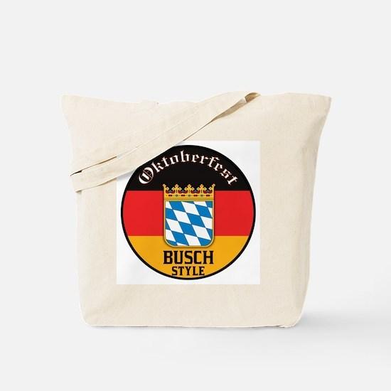 Busch Oktoberfest Tote Bag