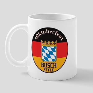 Busch Oktoberfest Mug