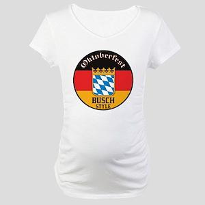 Busch Oktoberfest Maternity T-Shirt