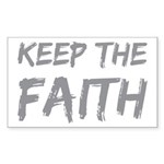 Keep The Faith Sticker