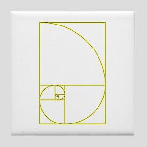 Golden Ratio Tile Coaster