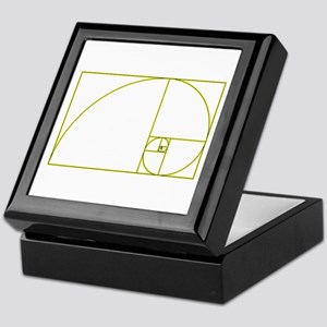 Golden Ratio Keepsake Box