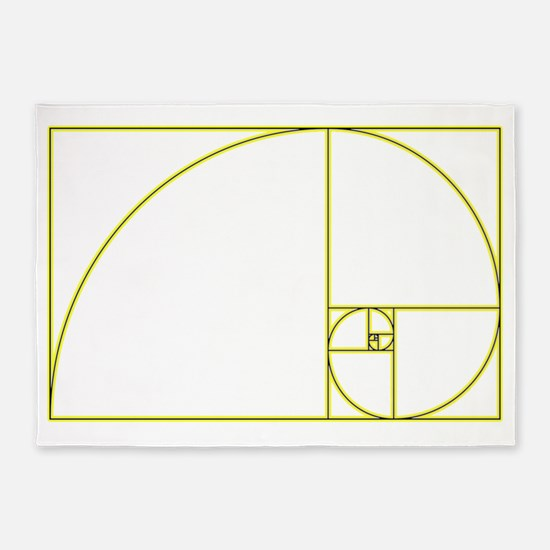 Golden Ratio 5'x7'Area Rug