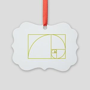 Golden Ratio Picture Ornament