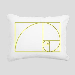 Golden Ratio Rectangular Canvas Pillow