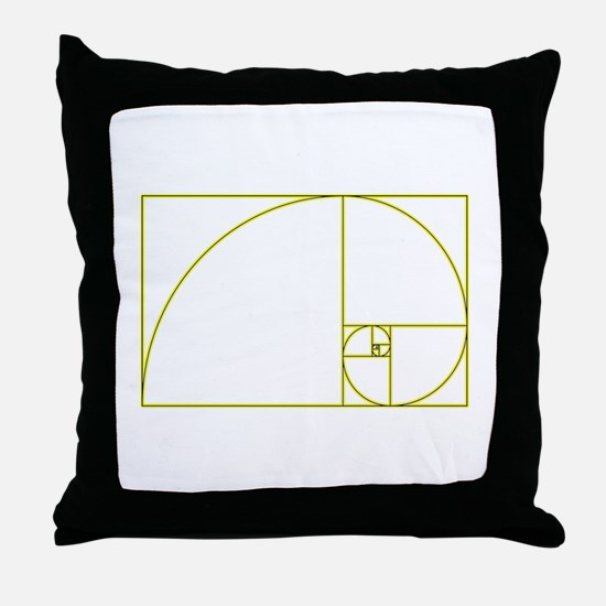 Golden Ratio Throw Pillow
