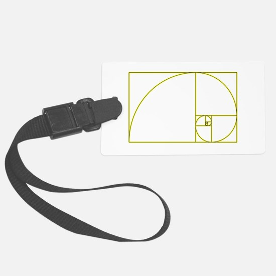 Golden Ratio Luggage Tag