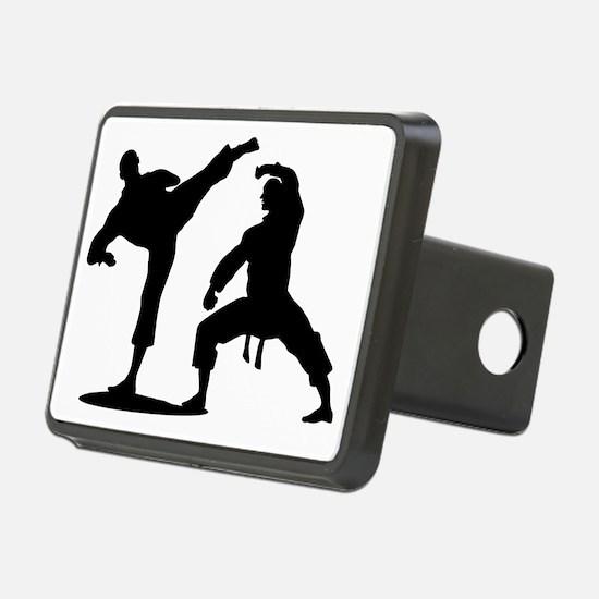 Cute Martial arts Hitch Cover