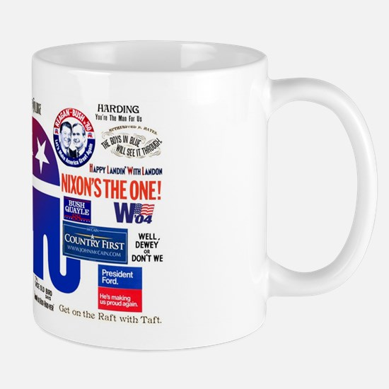 Historic Republican Mugs