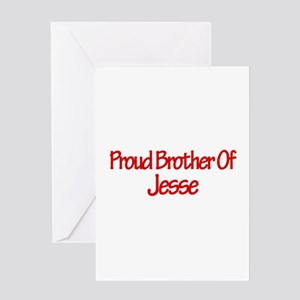 Proud Brother of Jesse Greeting Card