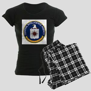 CIA Logo Women's Dark Pajamas