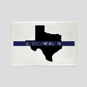 Back the Blue Texas Magnets