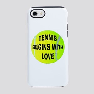 Tennis Love iPhone 8/7 Tough Case