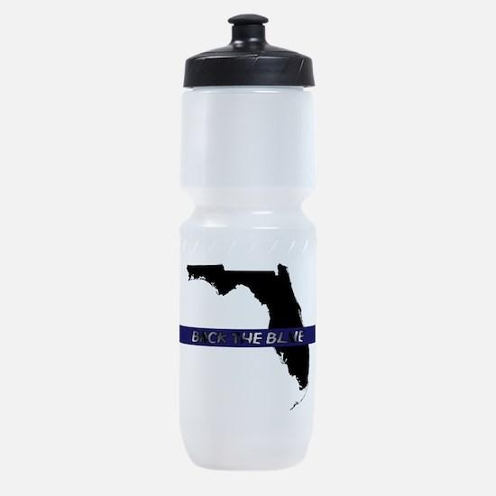 Back the Blue Florida Sports Bottle