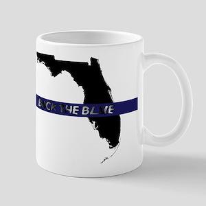 Back the Blue Florida Mugs