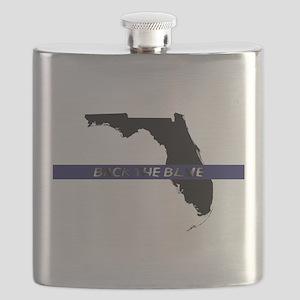 Back the Blue Florida Flask