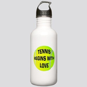 Tennis Love Stainless Water Bottle 1.0L