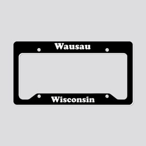 Wausau WI - LPF License Plate Holder
