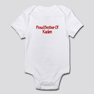 Proud Brother of Kaden Infant Bodysuit