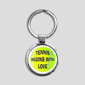 Tennis Love Keychains