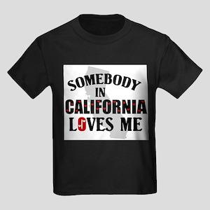 Somebody In California Ash Grey T-Shirt
