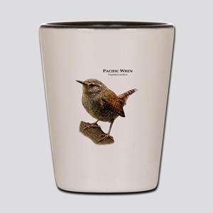 Pacific Wren Shot Glass