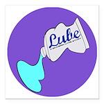 Lube Logo Square Car Magnet 3