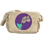 Lube Logo Messenger Bag