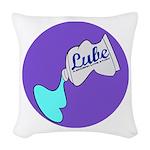 Lube Logo Woven Throw Pillow