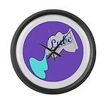 Lube Logo Large Wall Clock