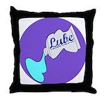 Lube Logo Throw Pillow