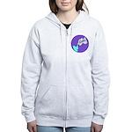 Lube Logo Zip Hoodie