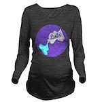 Lube Logo Long Sleeve Maternity T-Shirt