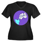 Lube Logo Plus Size T-Shirt