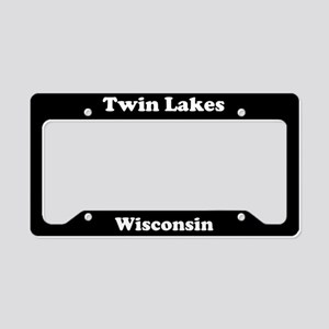 Twin Lakes WI - LPF License Plate Holder