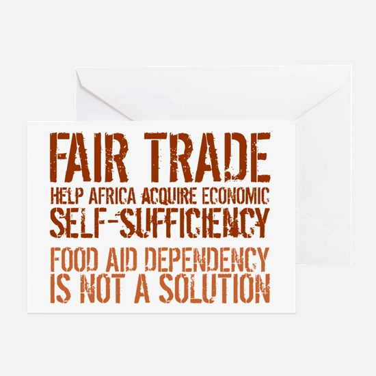 Africa needs fair trade greeting cards cafepress fair trade greeting card m4hsunfo