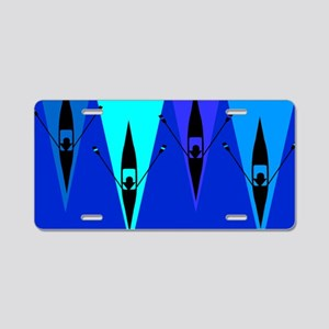 Rowing Boats Aluminum License Plate