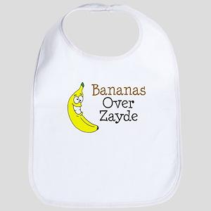 Bananas Over Zayde Bib