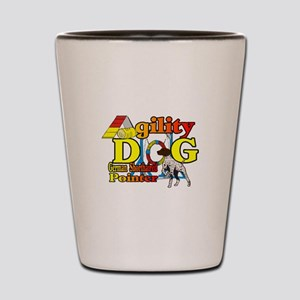 German Shorthair Agility Shot Glass