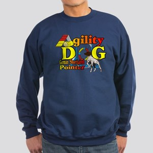 German Shorthair Agility Sweatshirt (dark)