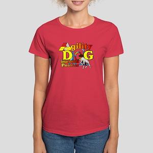 German Shorthair Agility Women's Dark T-Shirt