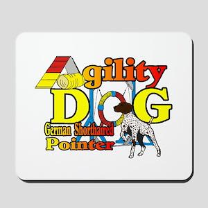 German Shorthair Agility Mousepad