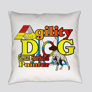 German Shorthair Agility Everyday Pillow
