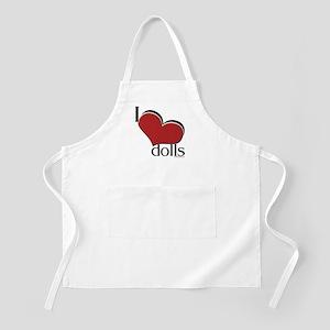 """I """"heart"""" dolls BBQ Apron"""