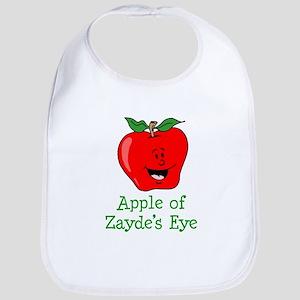 Apple of Zayde's Eye Bib