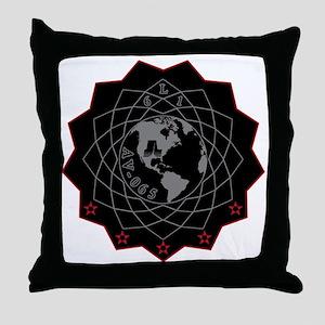 NROL 61 Launch Team Logo Throw Pillow